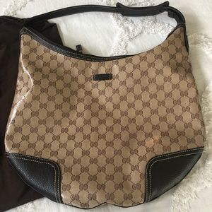 Gucci Crystal Coated Princy Hobo Bag